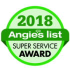 angies list award 2018 always green carpet cleaner